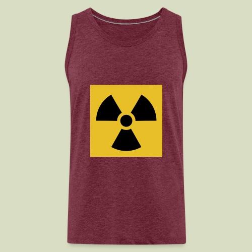 Radiation warning - Miesten premium hihaton paita