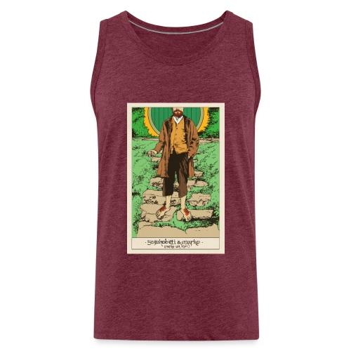 Soijahobitti ja Marko (värillinen) - Miesten premium hihaton paita