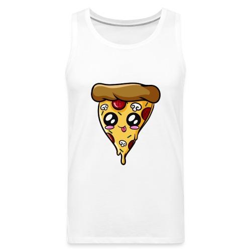 Pizza Kawaii - Débardeur Premium Homme