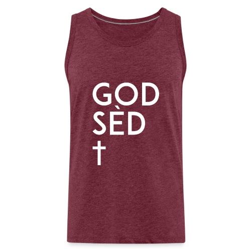 God sed the Cross - Débardeur Premium Homme