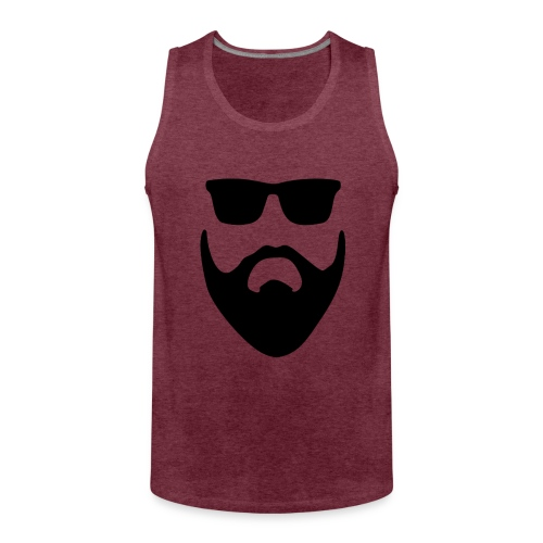 Beard glasses - Débardeur Premium Homme