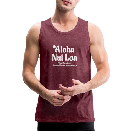 Aloha Nui Loa 2 white - Canotta premium da uomo