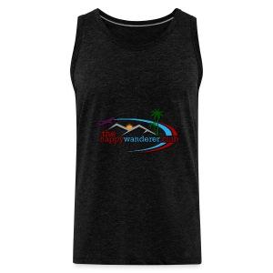 The Happy Wanderer Club Merchandise - Men's Premium Tank Top