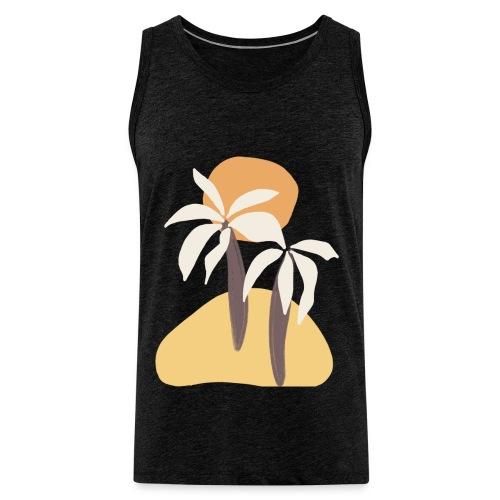 Minimal tropics - Canotta premium da uomo