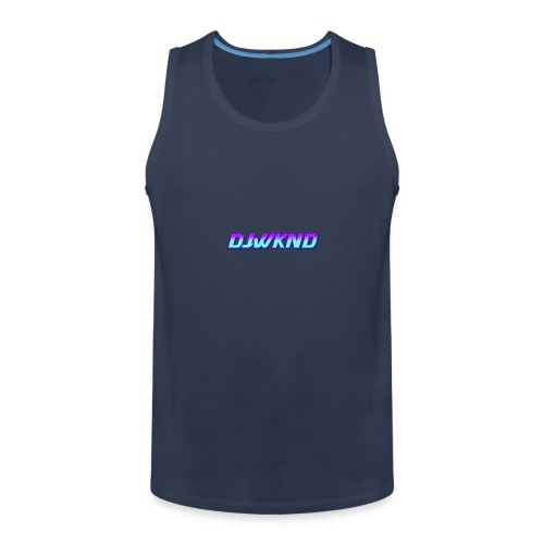 djwknd - Miesten premium hihaton paita