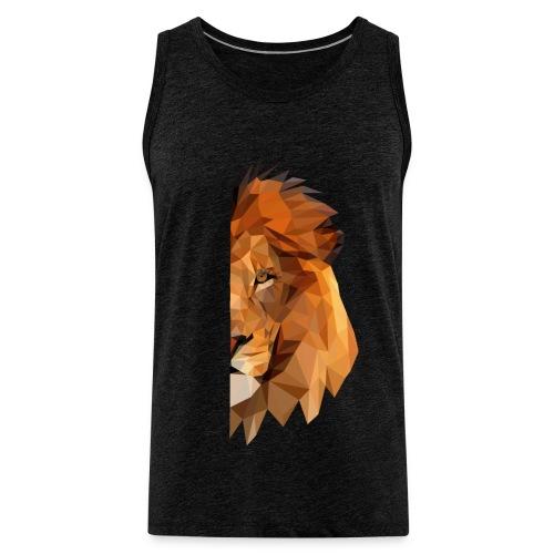LION - MINIMALISTE - Débardeur Premium Homme