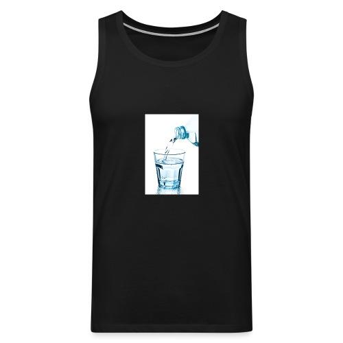 Glas-water-jpg - Mannen Premium tank top