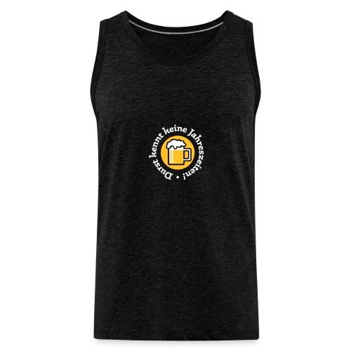 Bier Durst Jahreszeiten Sommer Oktoberfest Grill - Men's Premium Tank Top