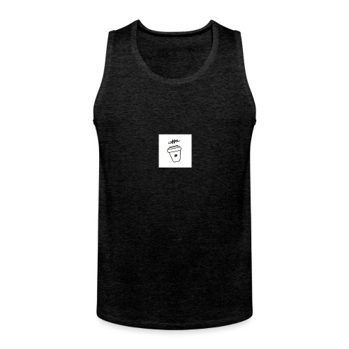 Coffee - Männer Premium Tank Top
