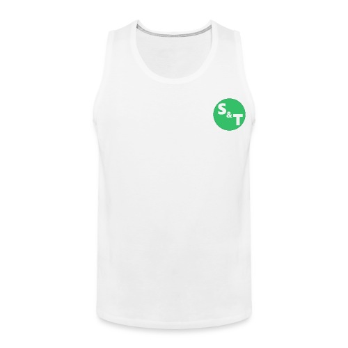 ST Main Logo - Men's Premium Tank Top