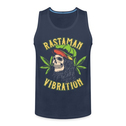 Rastaman - Cannabis - Männer Premium Tank Top