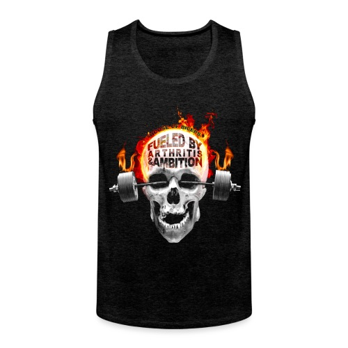 Fueled by Arthritis & Ambition - Men's Premium Tank Top