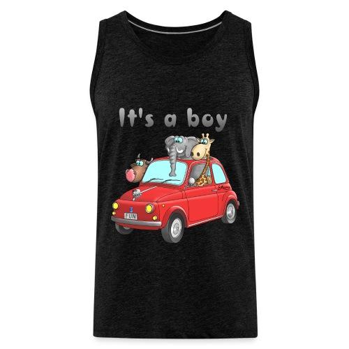 It's a boy - Baby - Cartoon - lustig - Männer Premium Tank Top