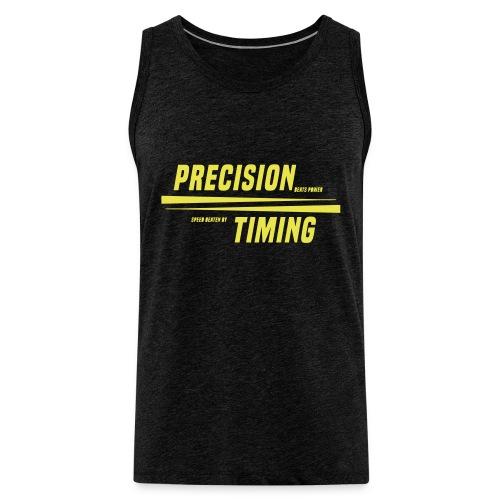 PRECISION & TIMING - Herre Premium tanktop