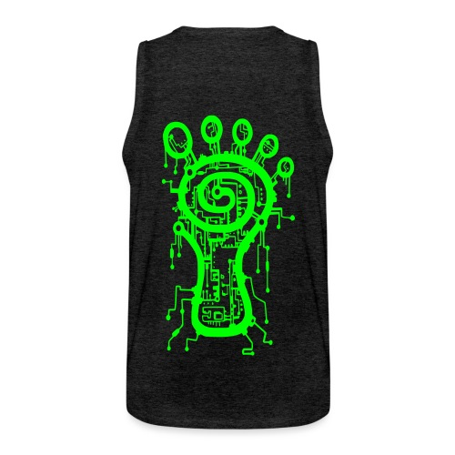 Parvati Records Matrix logo - Men's Premium Tank Top
