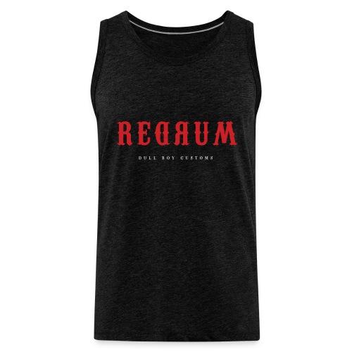 REDRUM - Premium singlet for menn