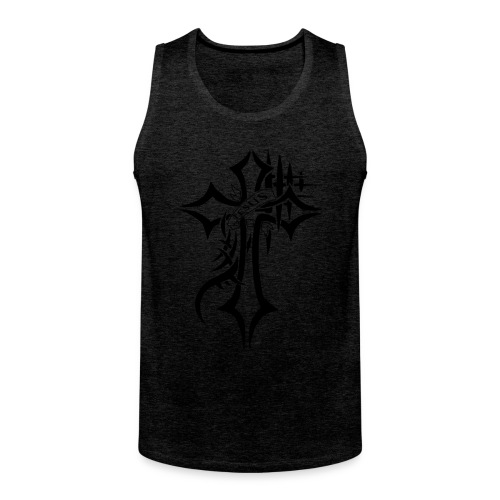 cross - Premium singlet for menn