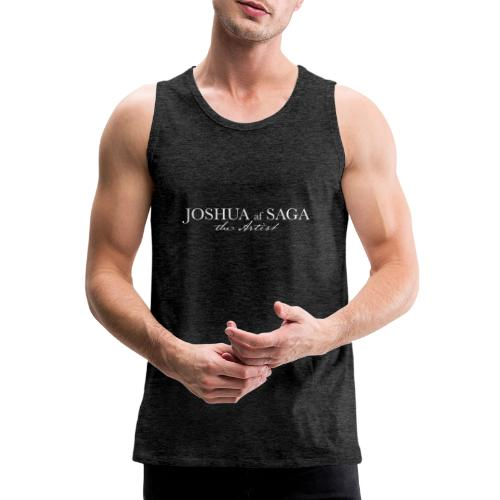 Joshua af Saga - The Artist - White - Men's Premium Tank Top