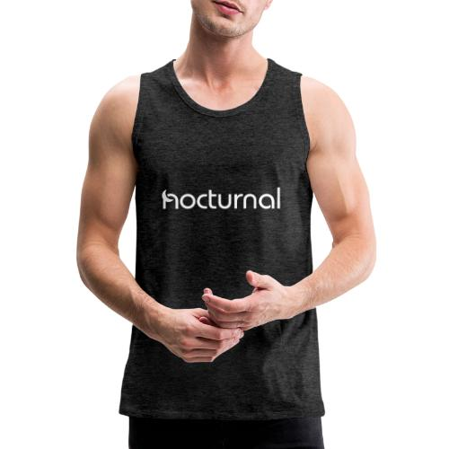 Nocturnal White - Men's Premium Tank Top
