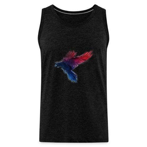 Watercolor Raven - Männer Premium Tank Top
