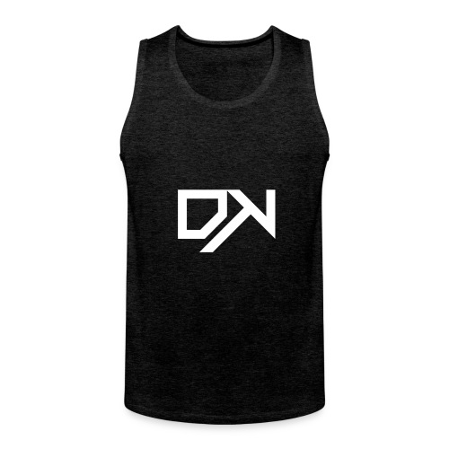 DewKee Logo Shirt Black - Men's Premium Tank Top