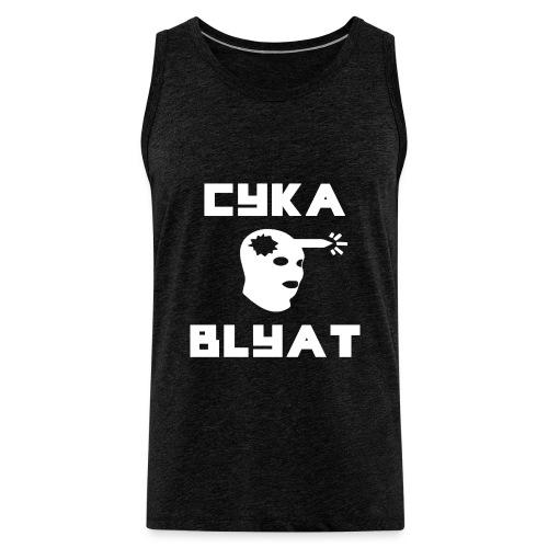 CYKA_BLYAT-png - Men's Premium Tank Top