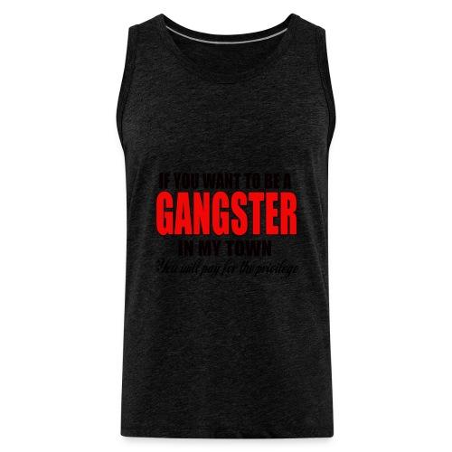 ville gangster - Débardeur Premium Homme
