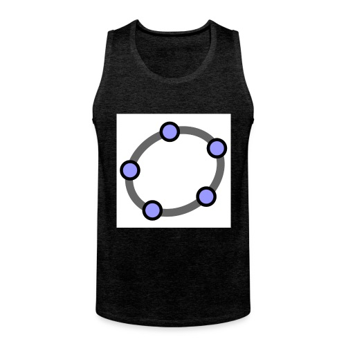 GeoGebra Ellipse - Men's Premium Tank Top