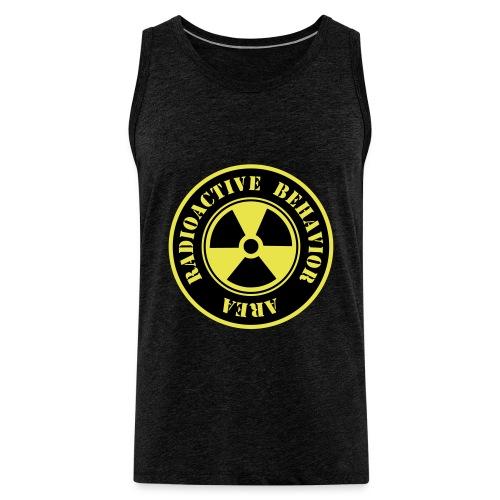 Radioactive Behavior - Tank top premium hombre