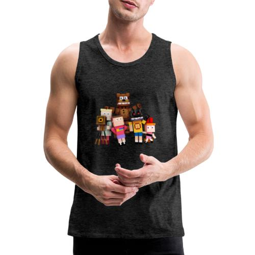 Withered Bonnie Productions - Meet The Gang - Men's Premium Tank Top