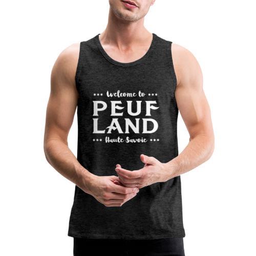 Peuf Land 74 - white - Débardeur Premium Homme