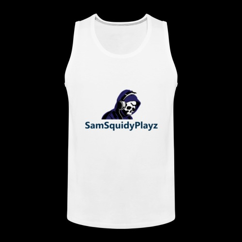 SamSquidyplayz skeleton - Men's Premium Tank Top
