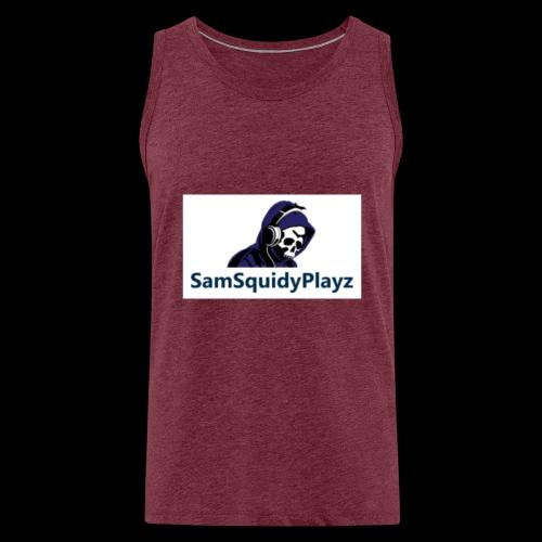SamSquidyplayz skeleton - Men's Premium Tank Top
