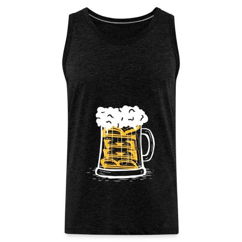 Bier Krug - Männer Premium Tank Top