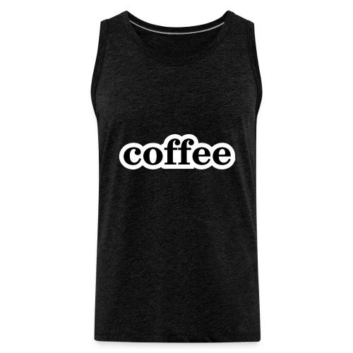 Kaffee - Männer Premium Tank Top