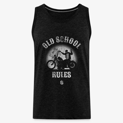 OldSchoolRules2 - Tank top premium hombre