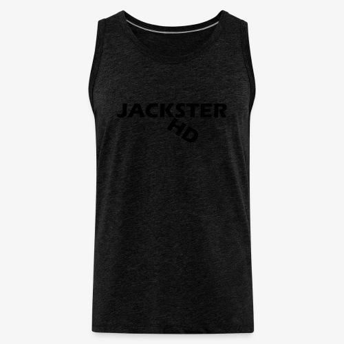 jacksterHD shirt design - Men's Premium Tank Top