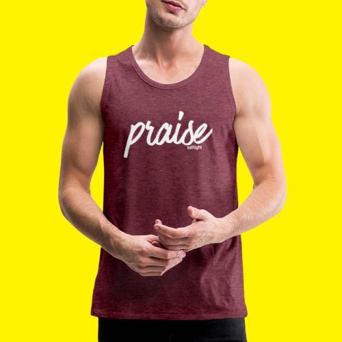 Praise (WHITE) - Men's Premium Tank Top