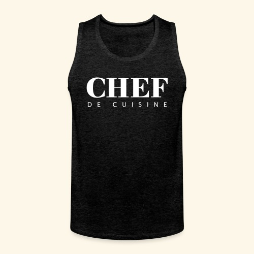 BOSS de cuisine - logotype - Men's Premium Tank Top