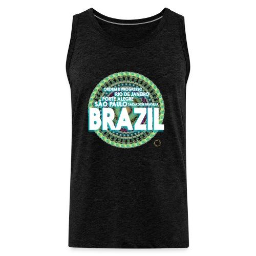 Lemon Brazil Mandala - Débardeur Premium Homme