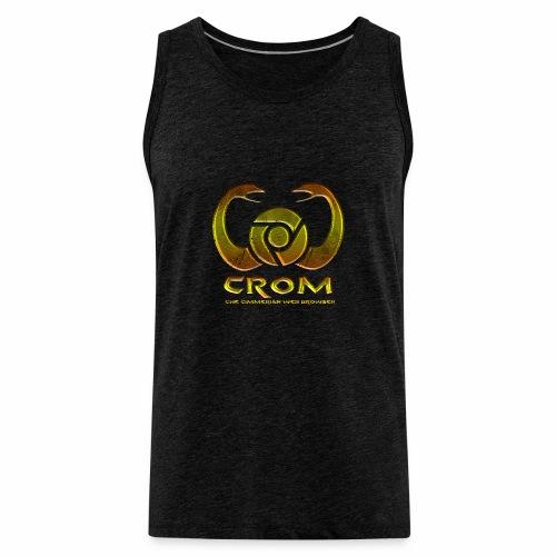 crom - Navegador web - Tank top premium hombre