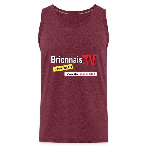BTV logo shirt dos - Débardeur Premium Homme