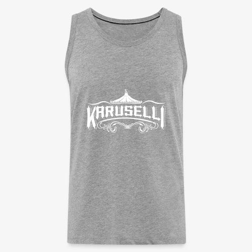 Karuselli - Miesten premium hihaton paita