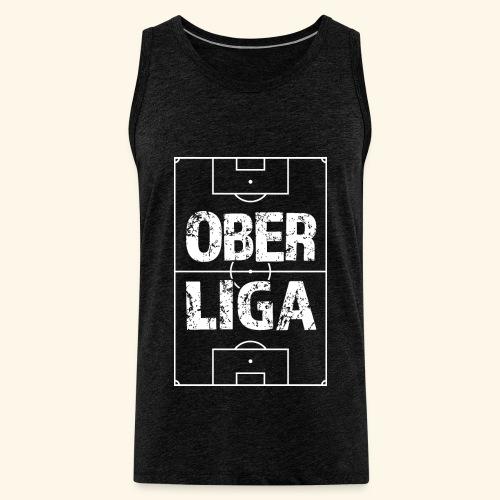 OBERLIGA im Fußballfeld - Männer Premium Tank Top