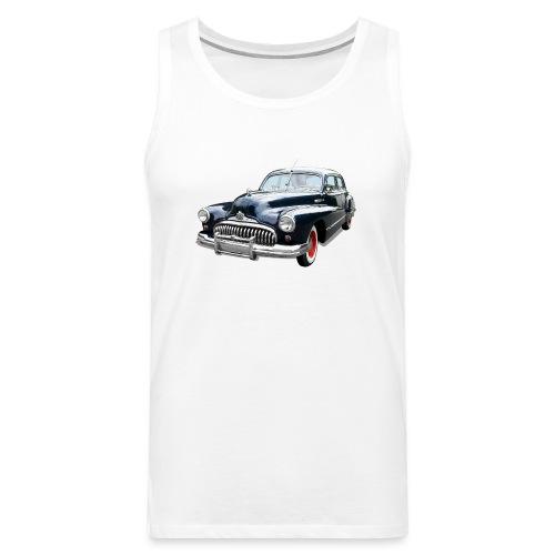 Classic Car. Buick zwart. - Mannen Premium tank top