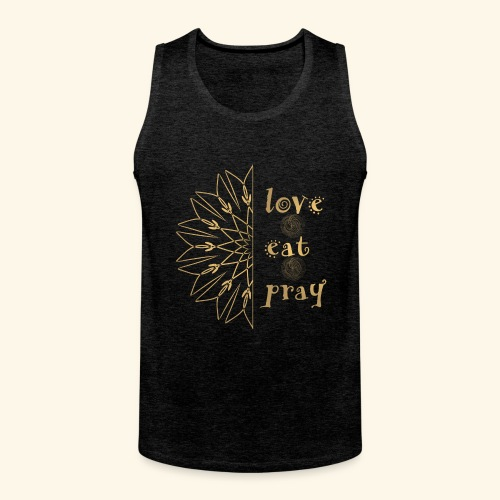 Eat Love & Pray - Men's Premium Tank Top