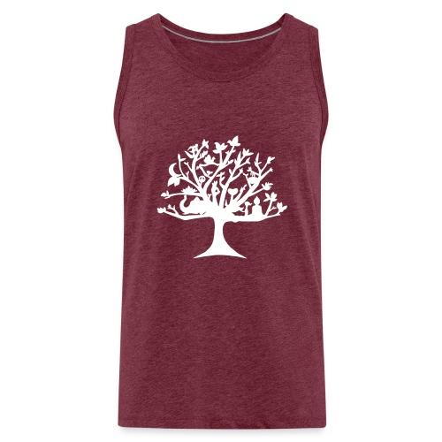Yoga tree - Débardeur Premium Homme
