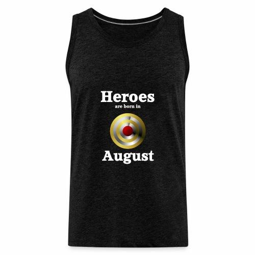 August - Männer Premium Tank Top