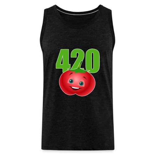 Tomate 420 - Männer Premium Tank Top