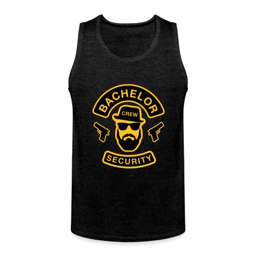 Bachelor Security - JGA T-Shirt - Bräutigam Shirt - Männer Premium Tank Top